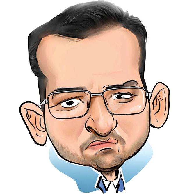 کاریکاتور محمدجواد آذری جهرمی