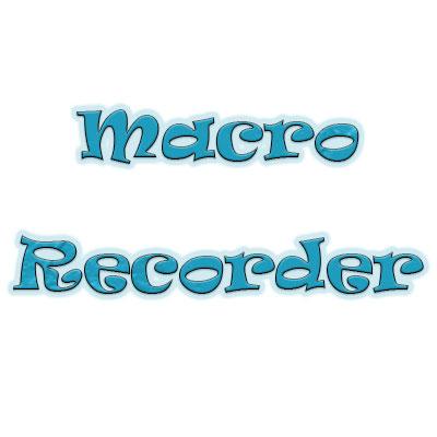 آموزش کار با Macro Recorder